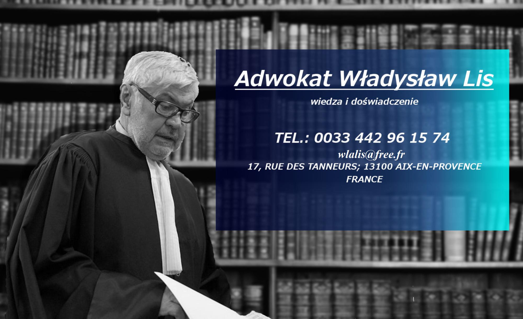 Kancelaria Adwokacka Władysław Lis